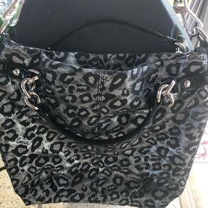 Coach Ocelot Print Brooke Shoulder Bag